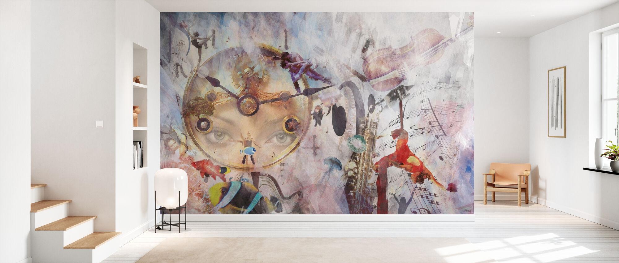 Tempo - Wallpaper - Hallway