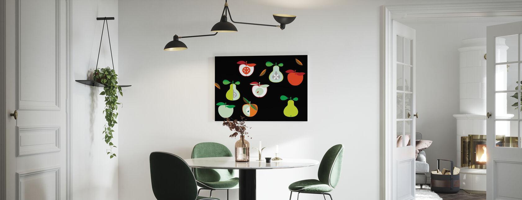 Kivik Omena ja päärynä - Canvastaulu - Keittiö