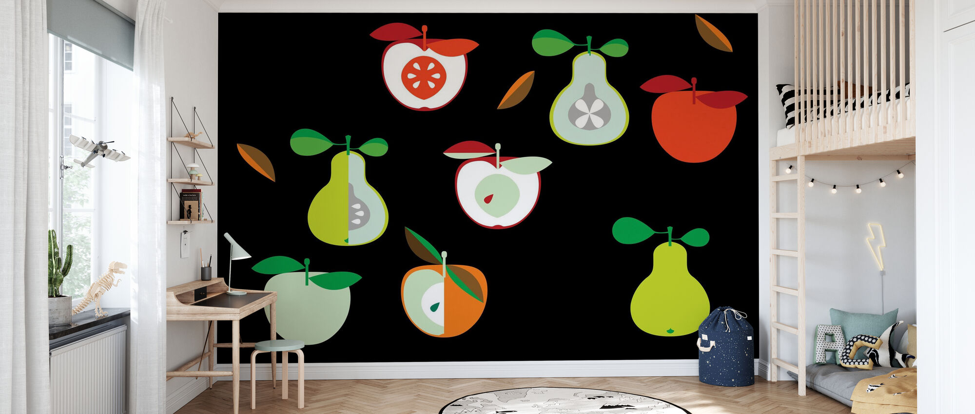 Kivik Apple and Pear - Wallpaper - Kids Room