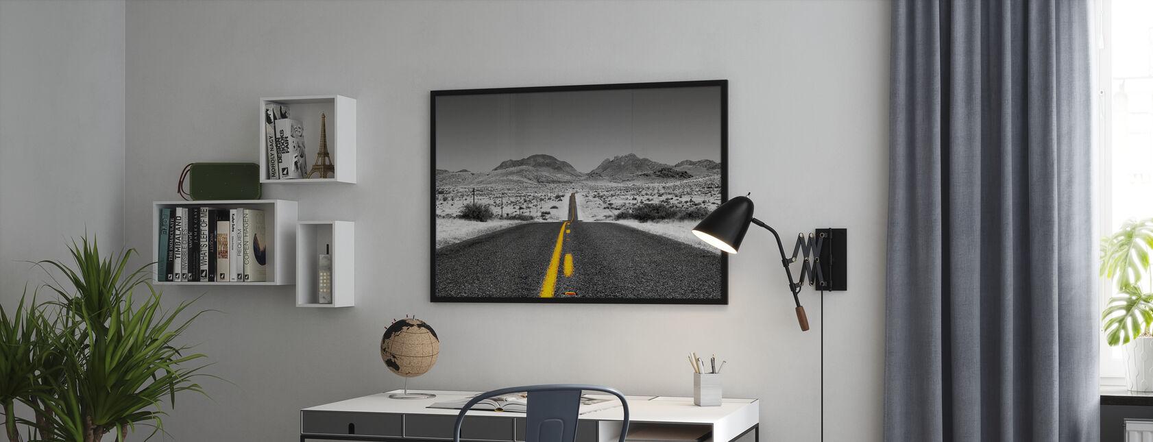 Förlorade motorvägen - Colorsplash - Poster - Kontor
