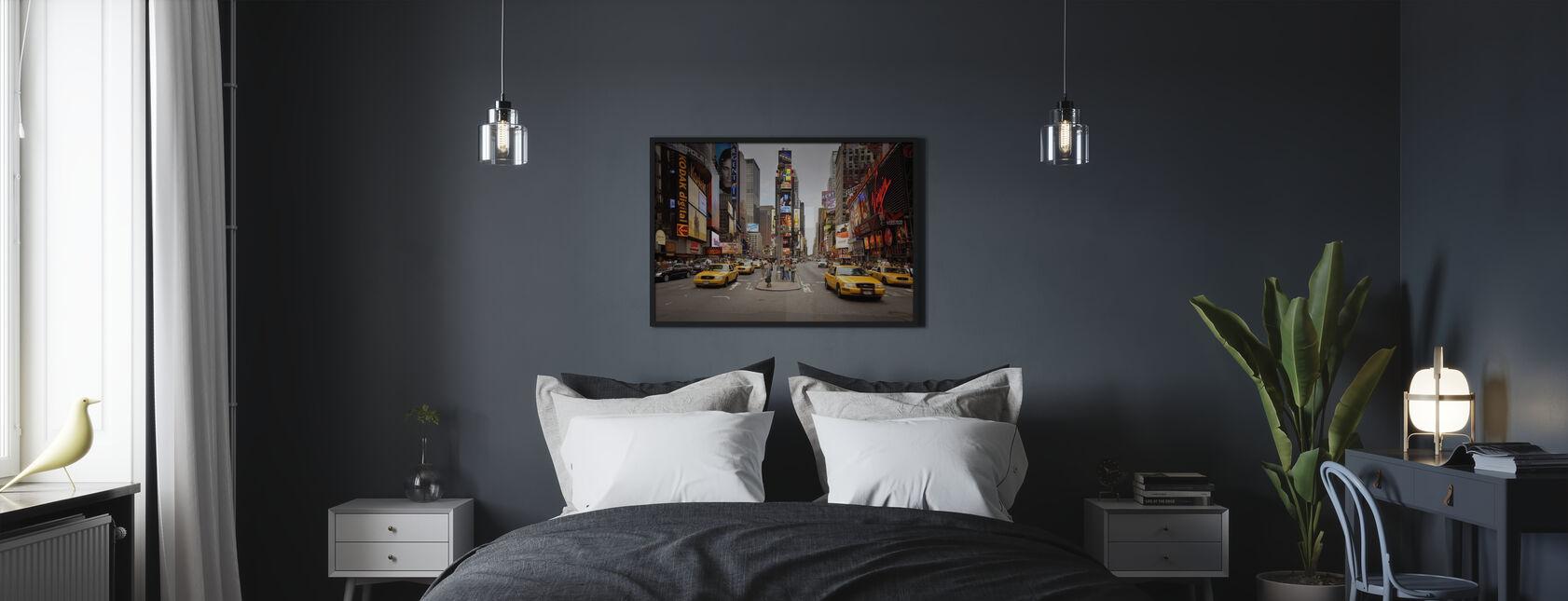 Times Square, New York, Verenigde Staten - Poster - Slaapkamer