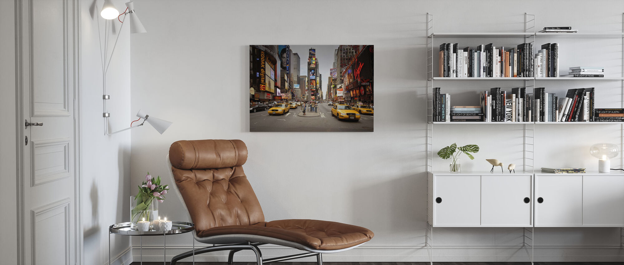 Times Square, New York, Verenigde Staten - Canvas print - Woonkamer
