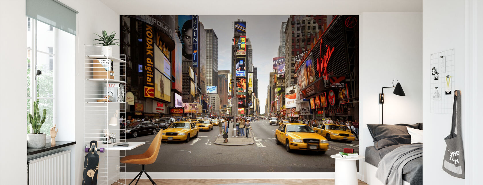 Times Square, New York, USA - Wallpaper - Kids Room