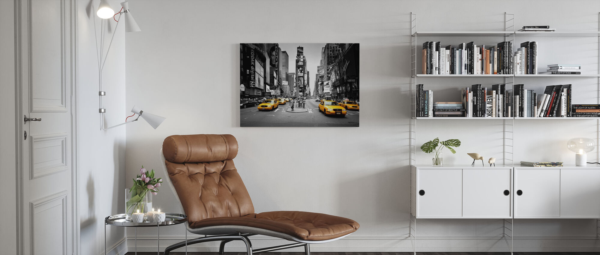 Times Square, New York, USA - Canvas print - Living Room