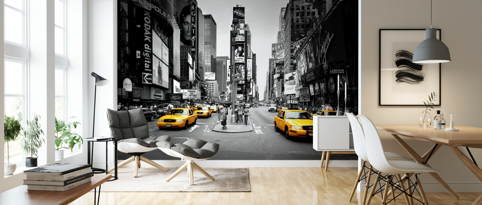 Times Square, New York, USA - Wallpaper - Living Room