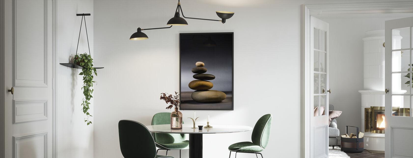 Pietre in equilibrio Zen - Poster - Cucina