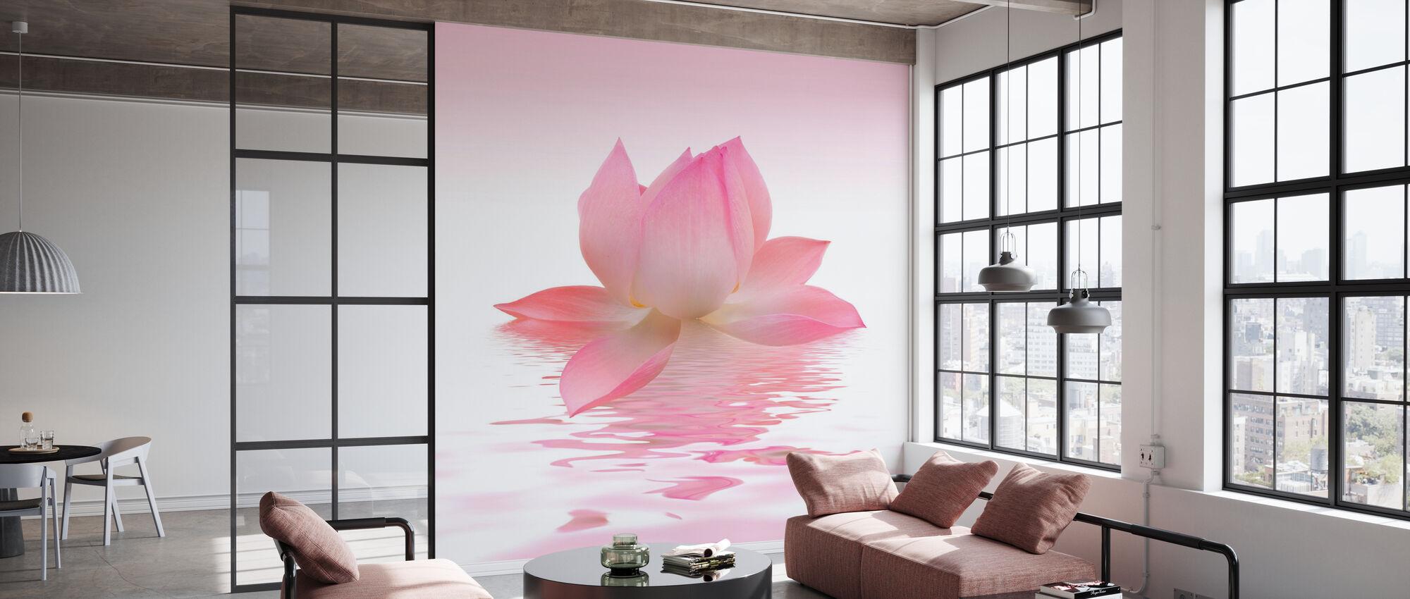 Rosa Lotus - Tapete - Büro