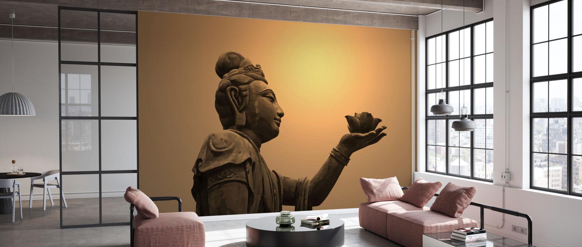 Buddhist Statue, Hong Kong - Wallpaper - Office