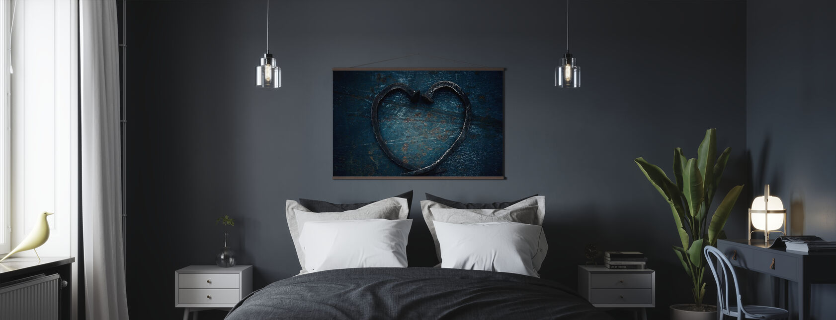 Heart of Nails - Poster - Bedroom