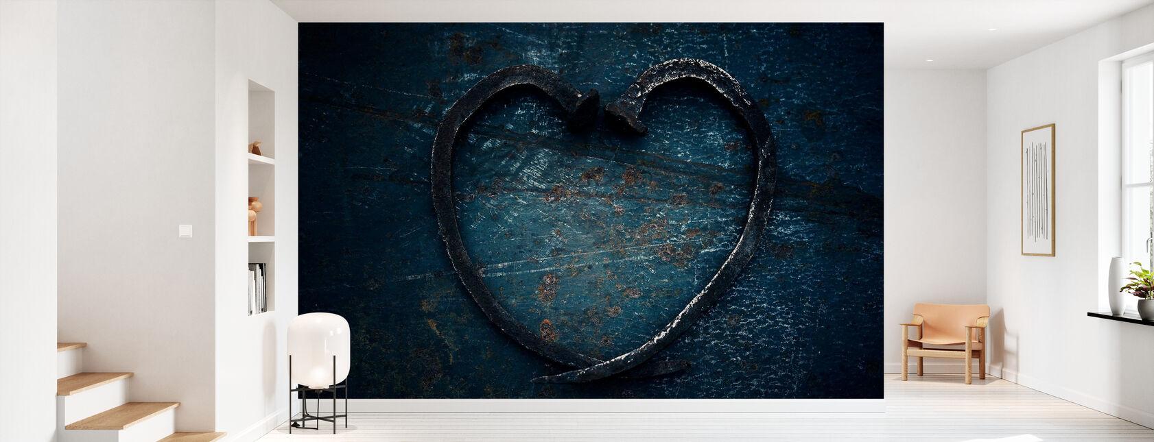 Heart of Nails - Wallpaper - Hallway