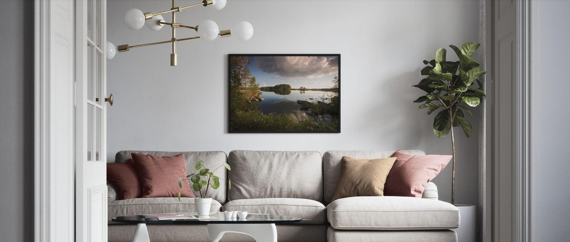 Swedish Summer Landscape - Poster - Living Room