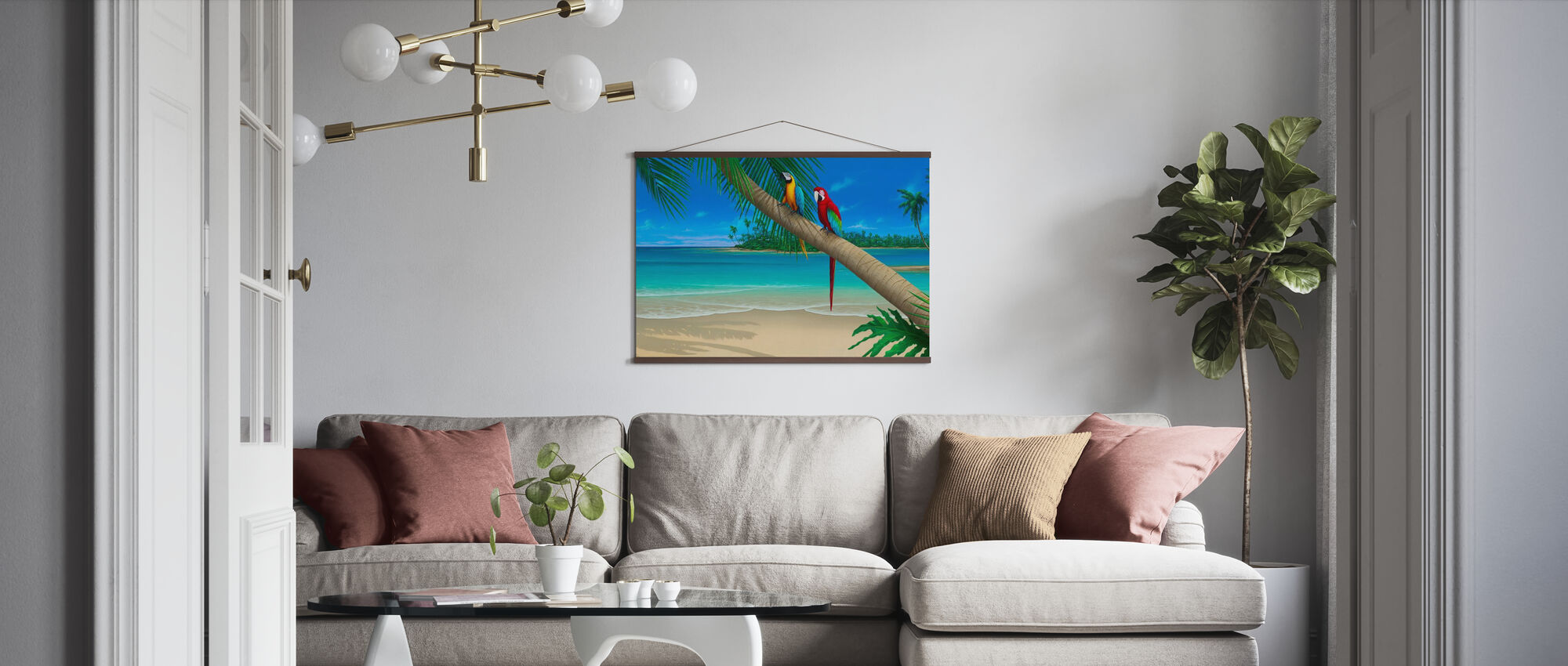 A Perfect Day II - Poster - Living Room