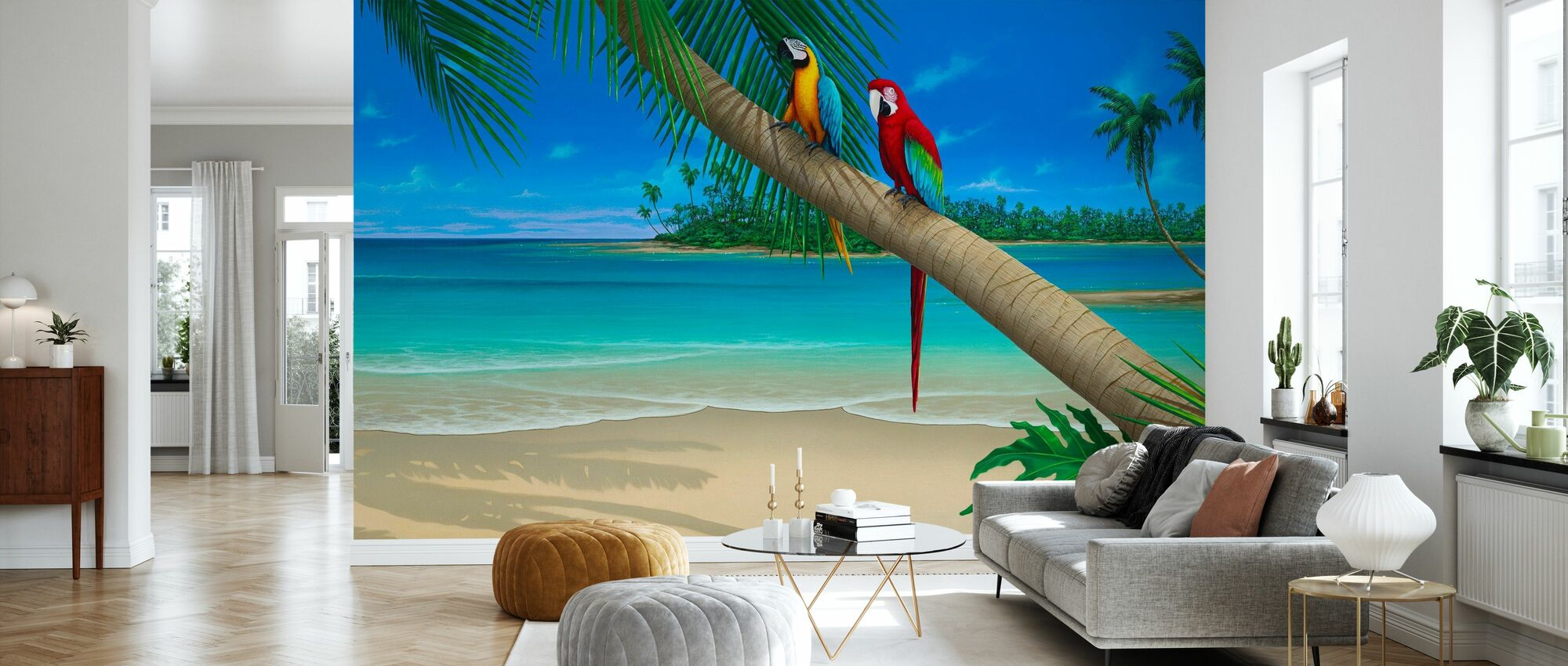 A Perfect Day II - Wallpaper - Living Room