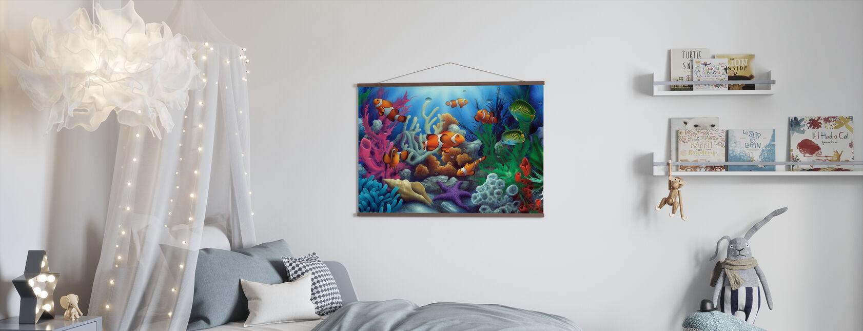Around the World 1 - Poster - Kids Room