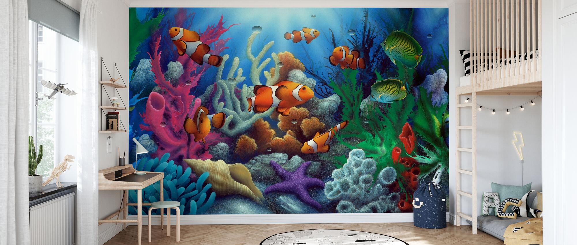 Around the World 1 - Wallpaper - Kids Room