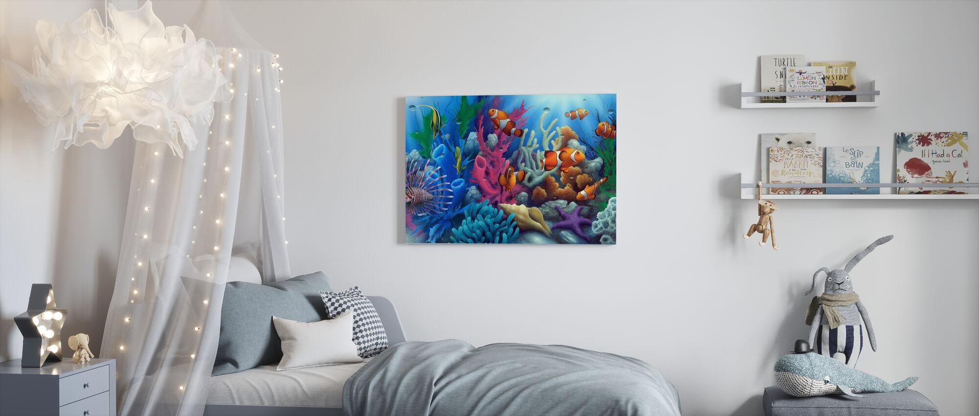 Around The World 2 - Canvas print - Kids Room