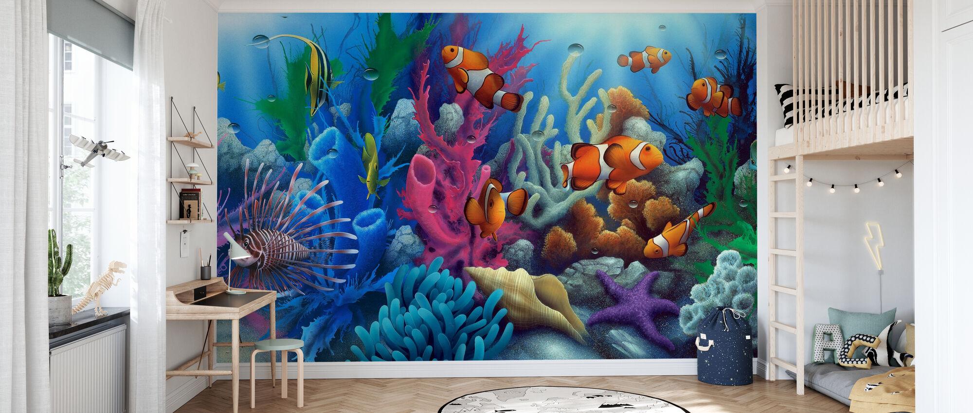 Around The World 2 - Wallpaper - Kids Room
