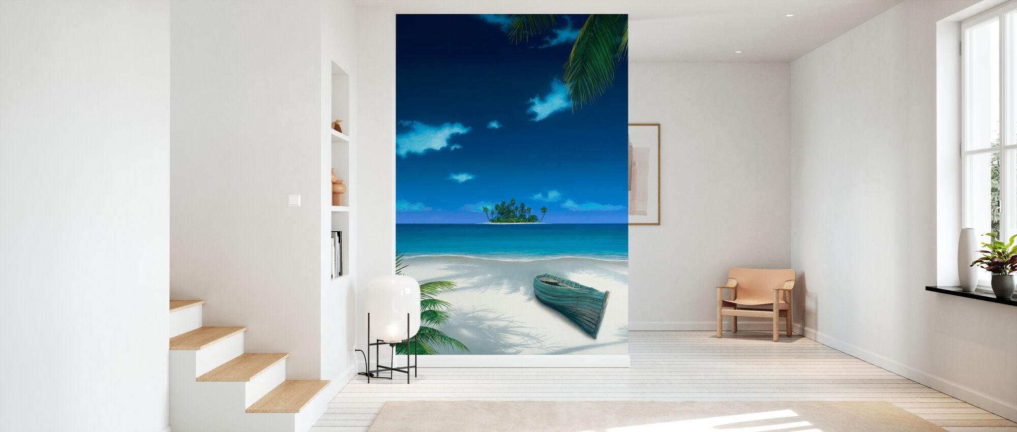 Beached - Wallpaper - Hallway