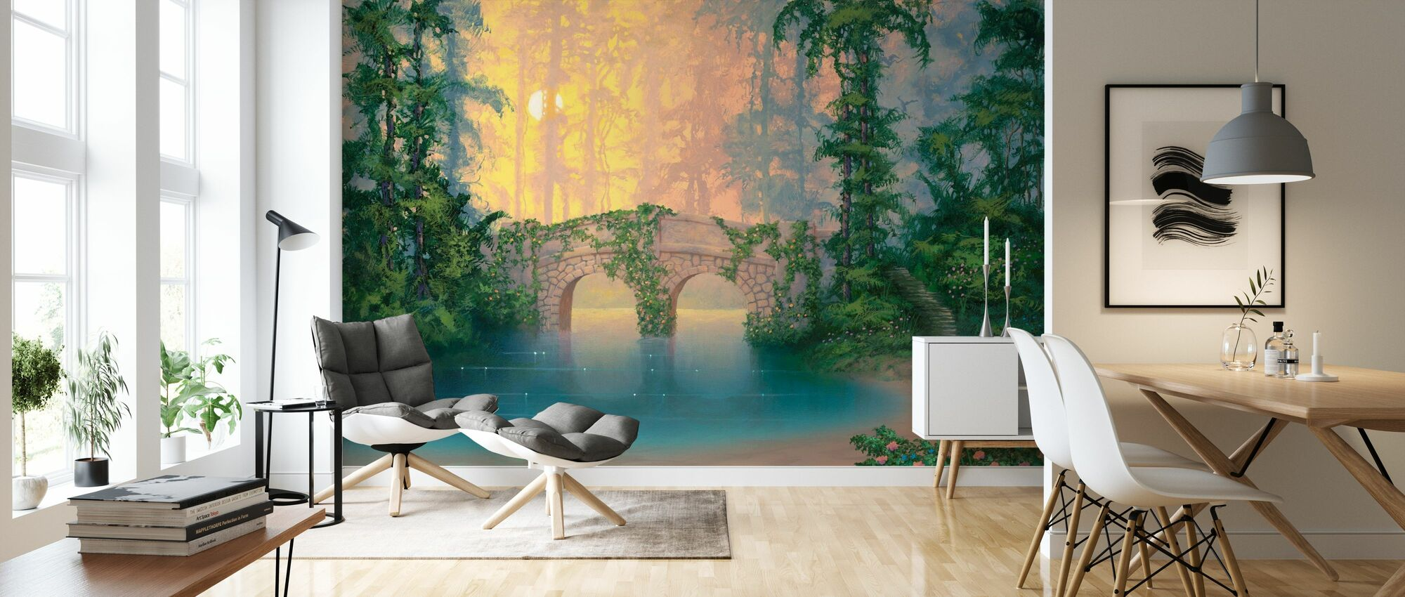 Heaven On Earth - Wallpaper - Living Room