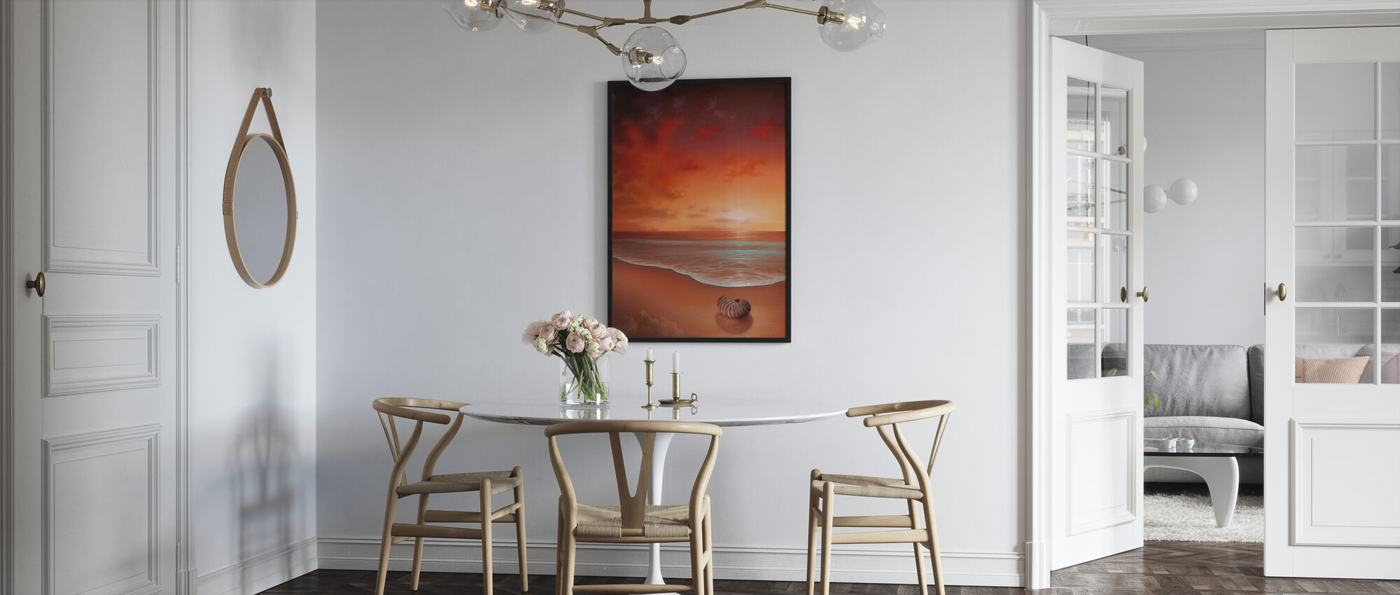 Crimson Tide - Framed print - Kitchen