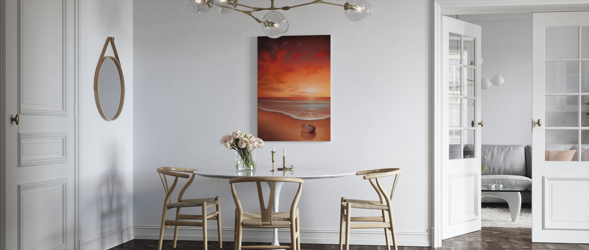 Crimson Tide - Canvas print - Keuken