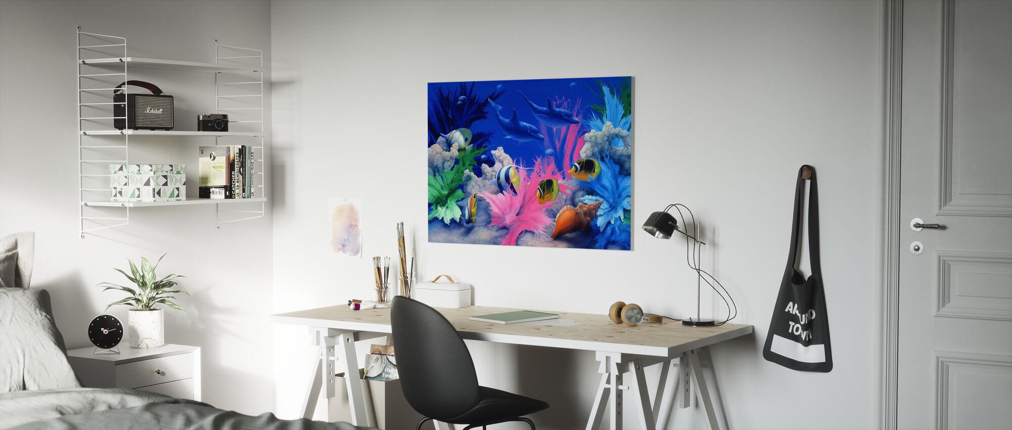Vivid - Canvas print - Kids Room