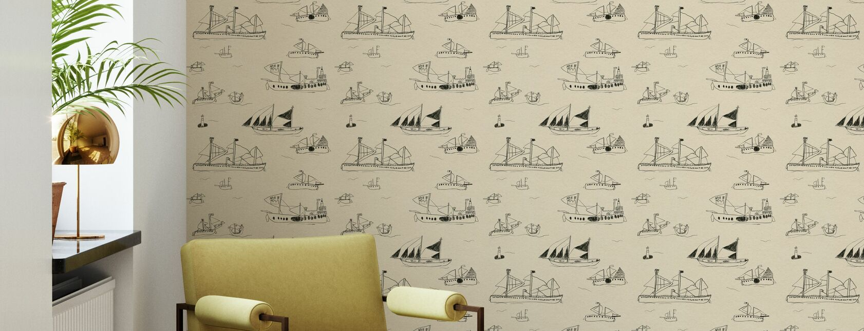 Ohoy - Wallpaper - Living Room