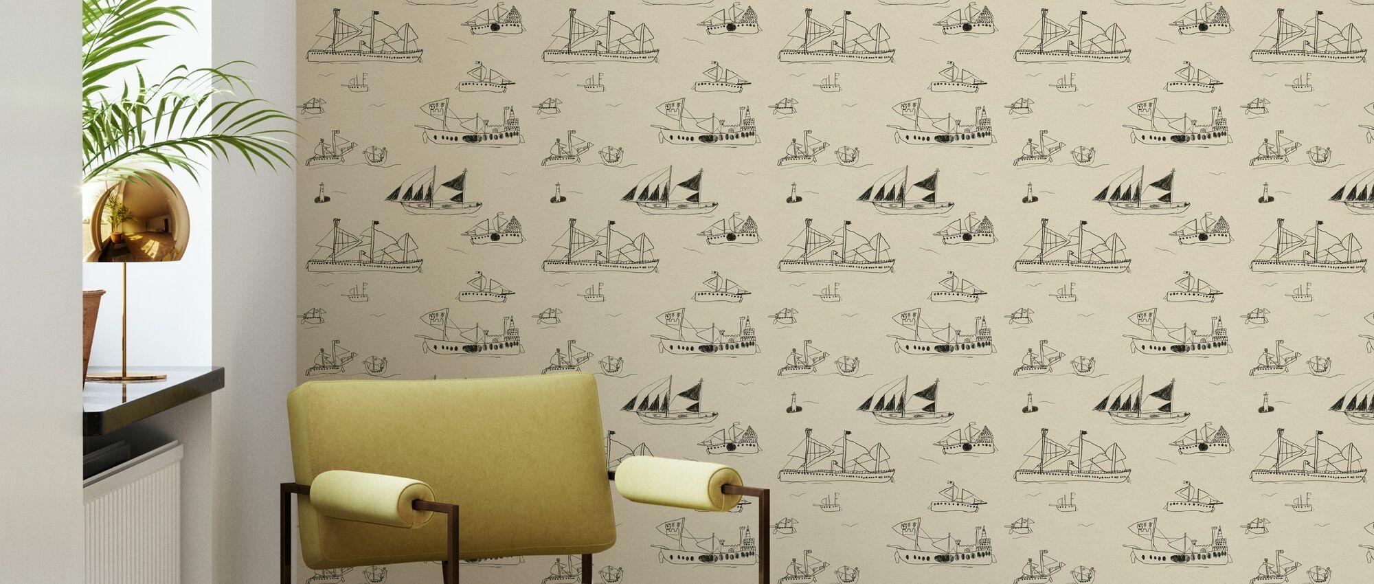 Ohoy - Wallpaper - Living Room