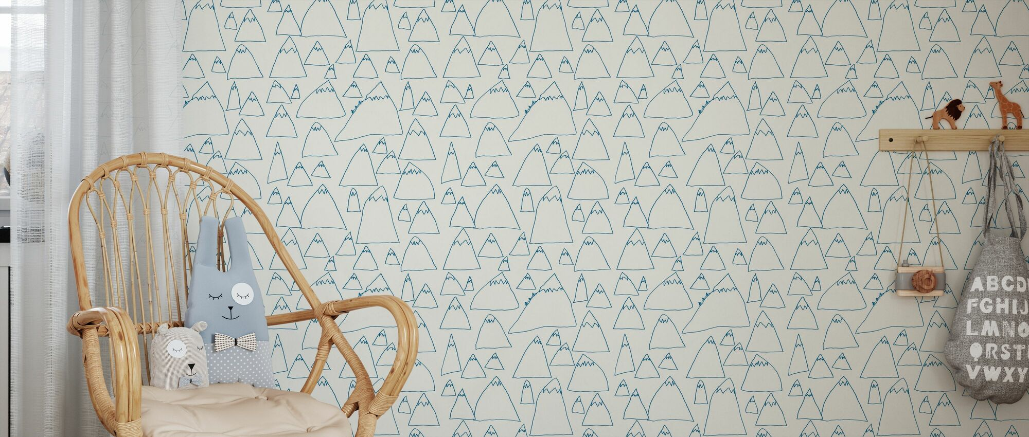 Mountains - Wallpaper - Kids Room