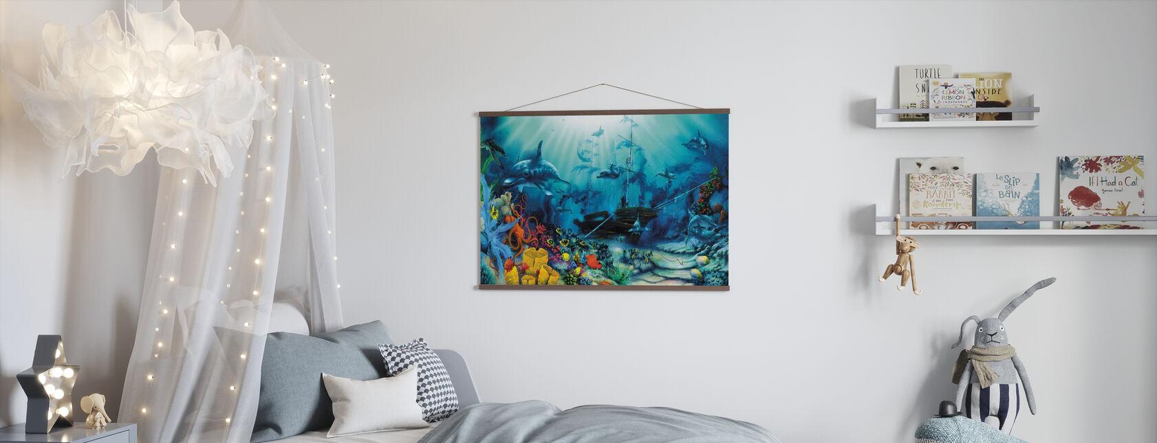 Trésors océaniques - Affiche - Chambre des enfants