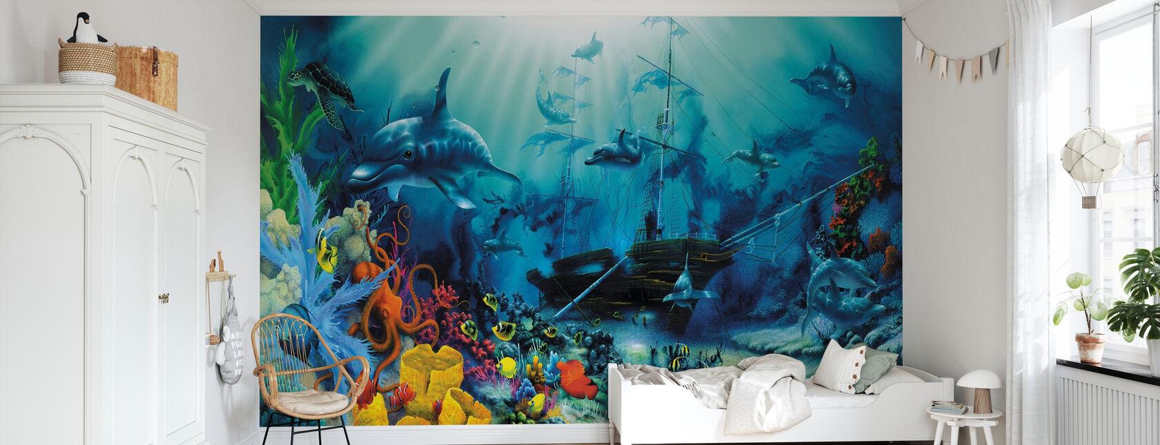 Ocean Treasures - Wallpaper - Kids Room