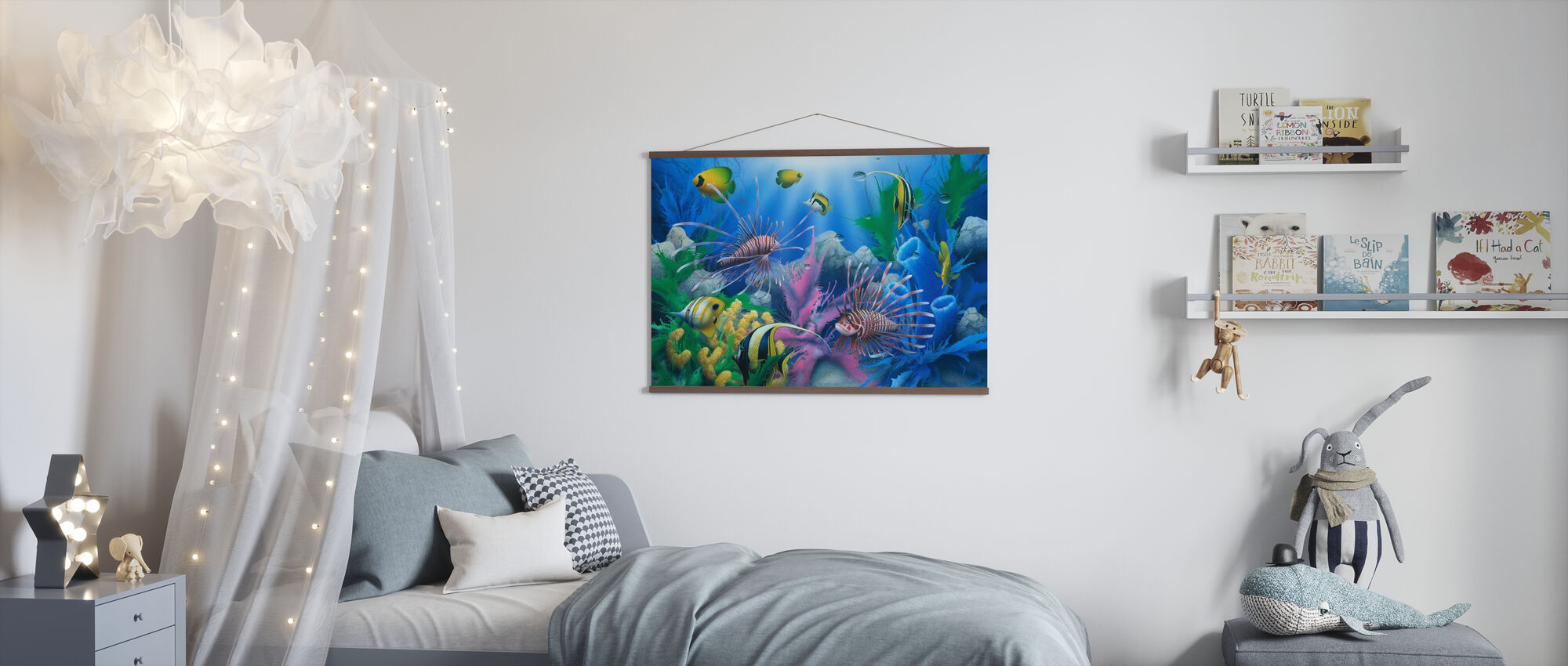 Lions of the Sea - Poster - Kids Room