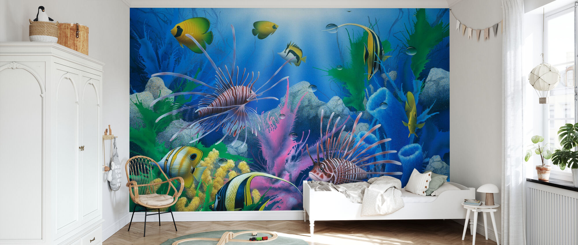 Lions of the Sea - Wallpaper - Kids Room