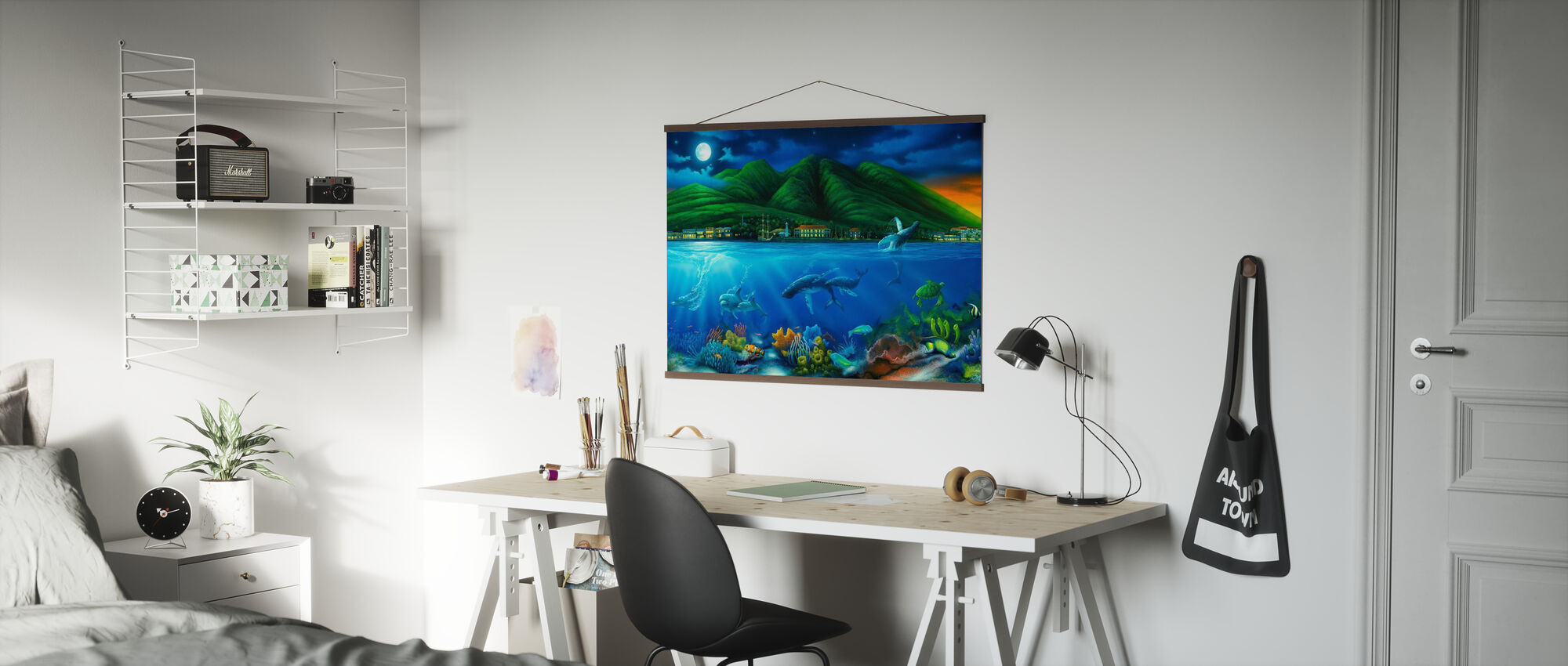 Lahaina Moon - Poster - Office