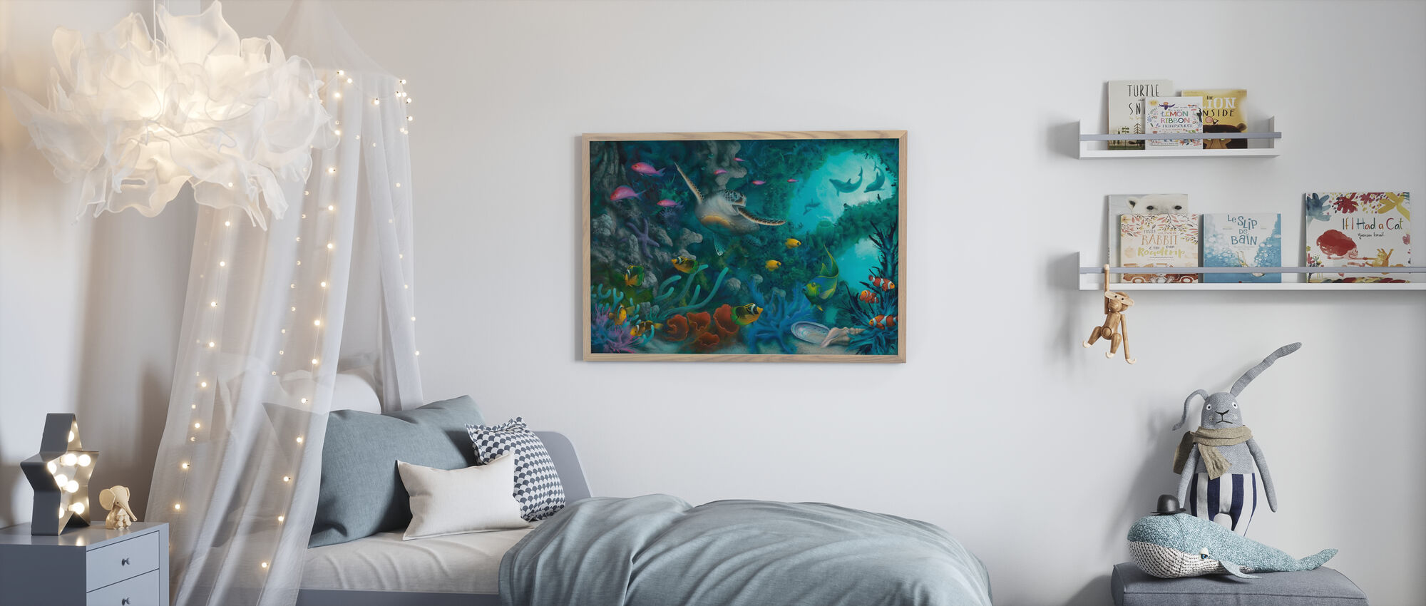 Jewels of the Sea - Poster - Kids Room