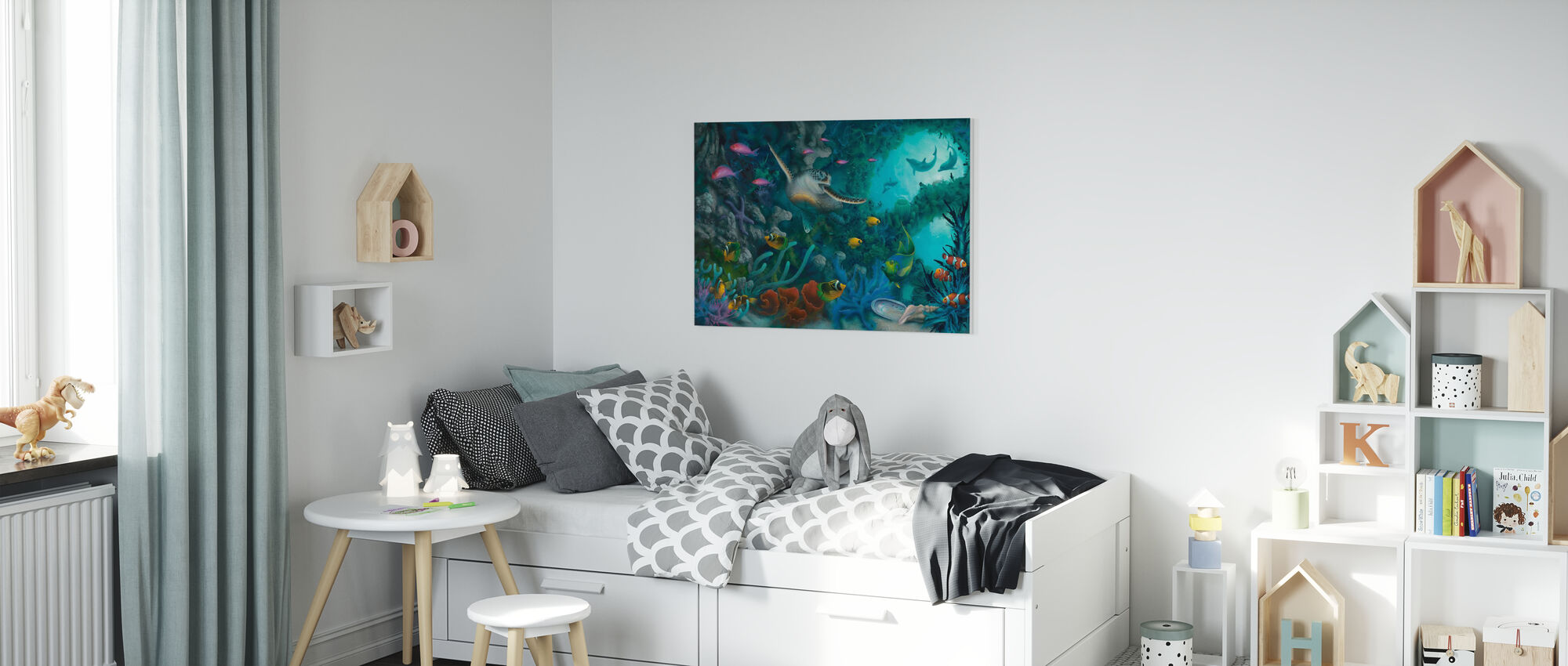 Jewels of the Sea - Canvas print - Kids Room