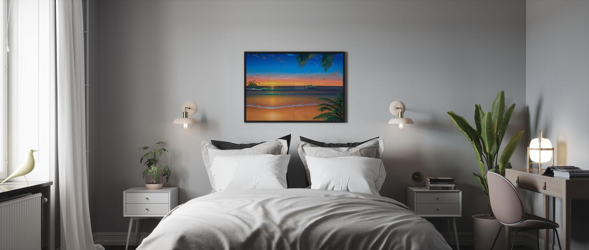 Island Romance - Framed print - Bedroom