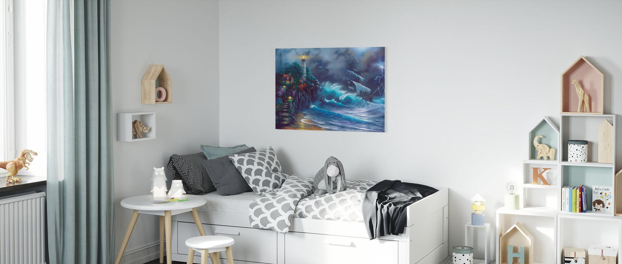 Revenge of the Sea - Canvas print - Kids Room