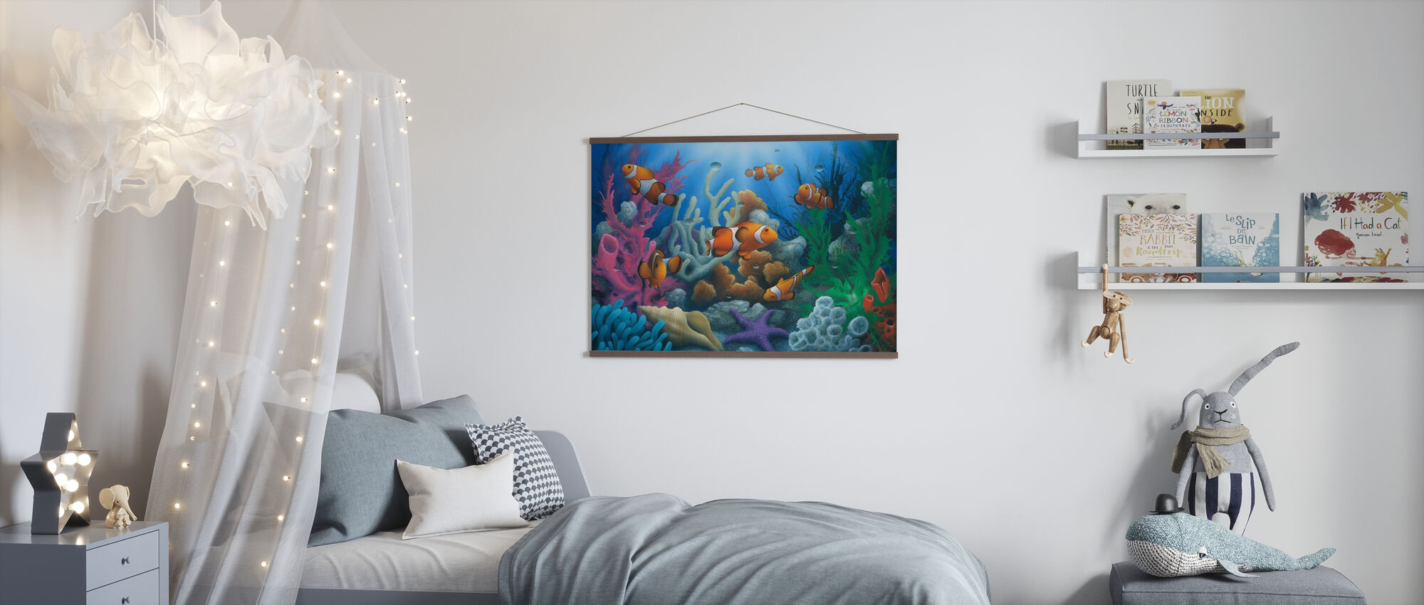Here Come the Clowns - Poster - Kids Room