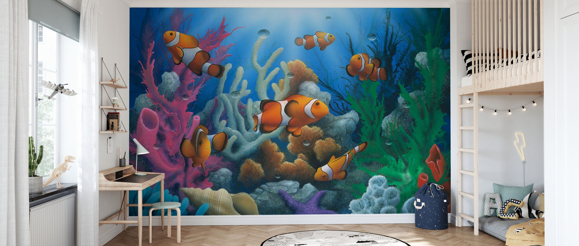 Here Come the Clowns - Wallpaper - Kids Room