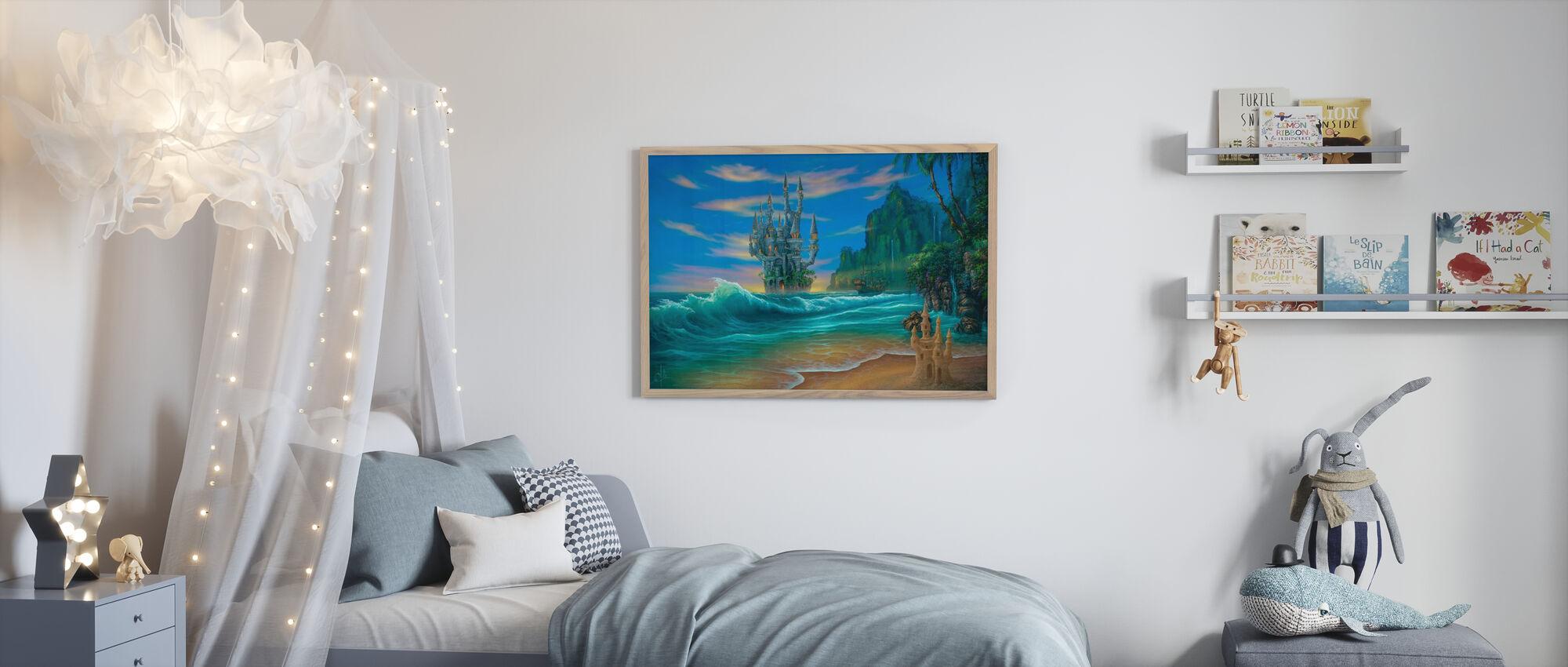 Fantasy Beach - Poster - Kids Room