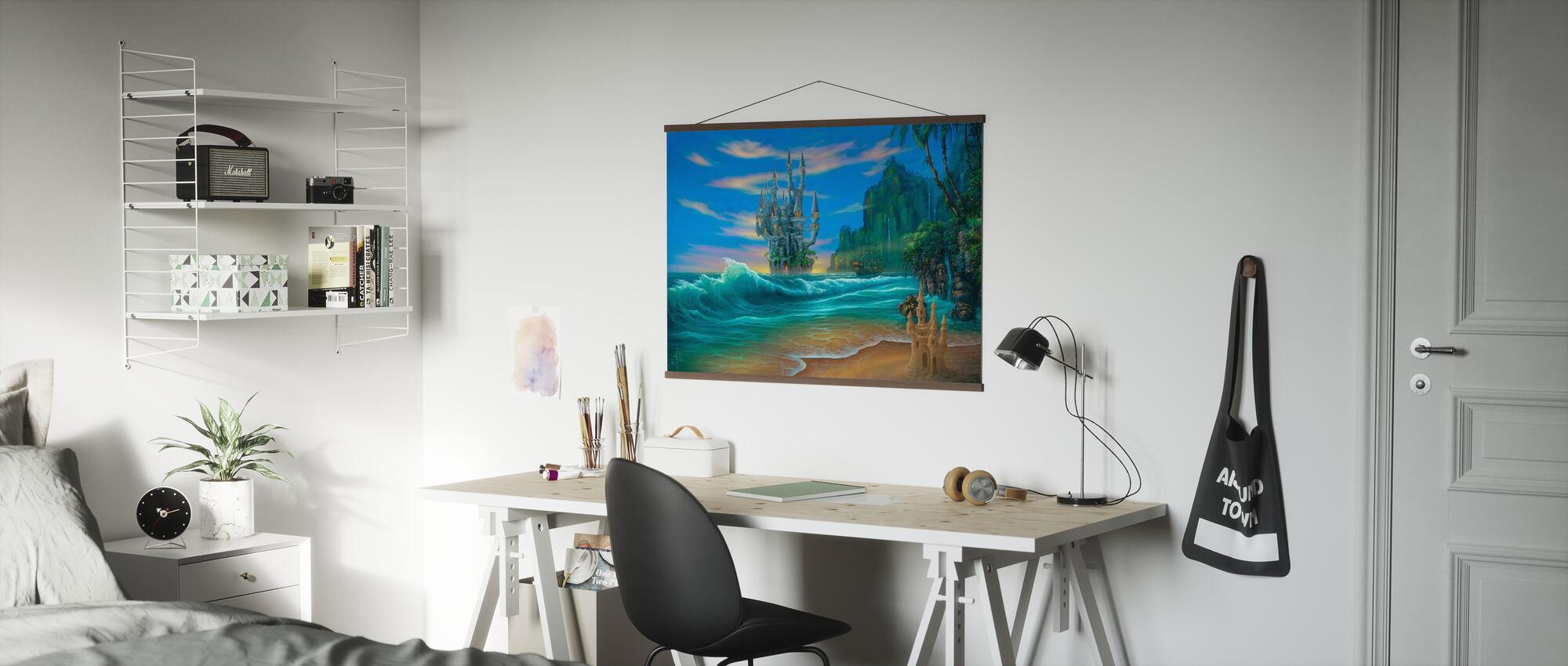 Fantasy Strand - Poster - Büro