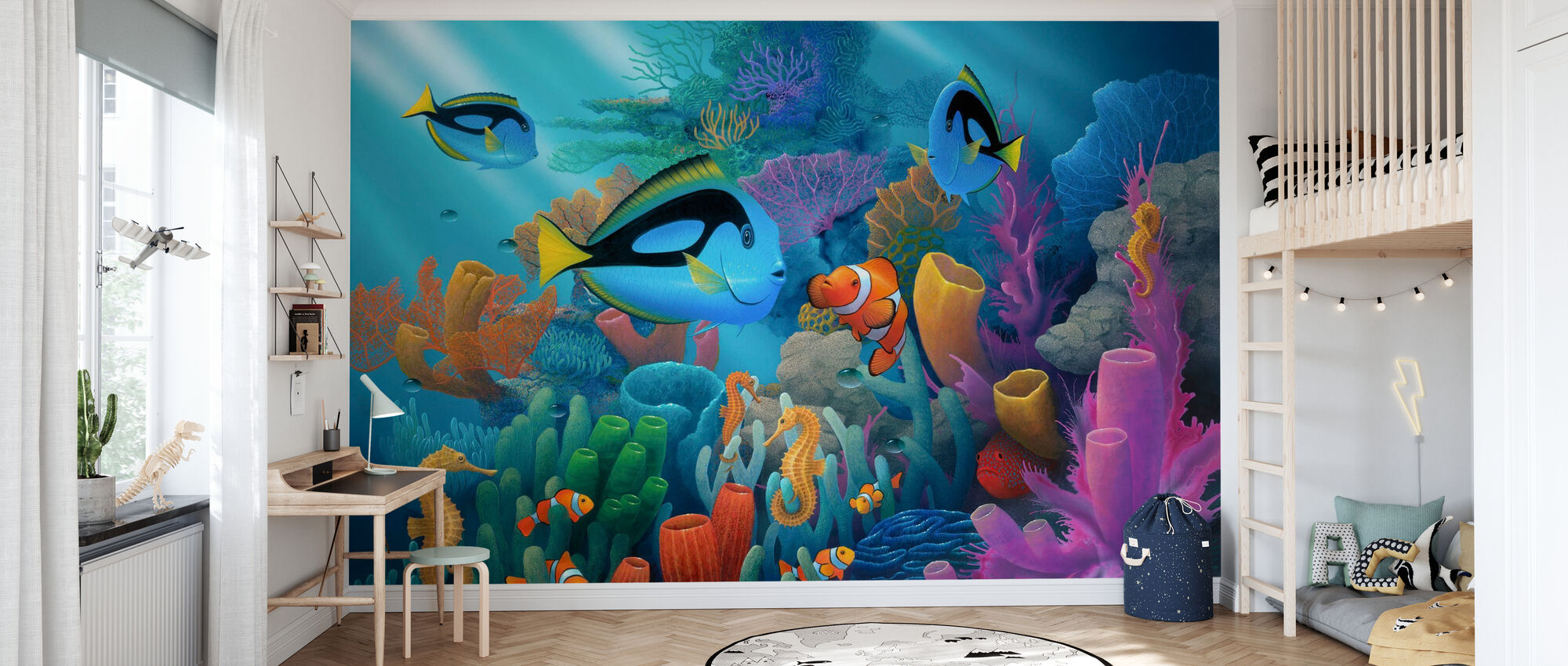 Friends of the Sea - Wallpaper - Kids Room