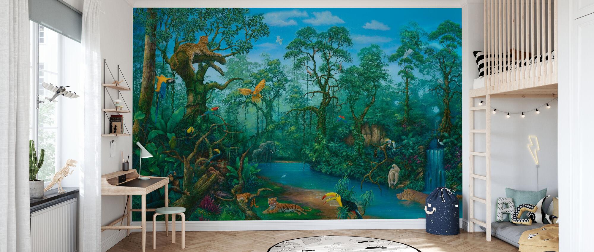 Det är en djungel där ute - Tapet - Barnrum