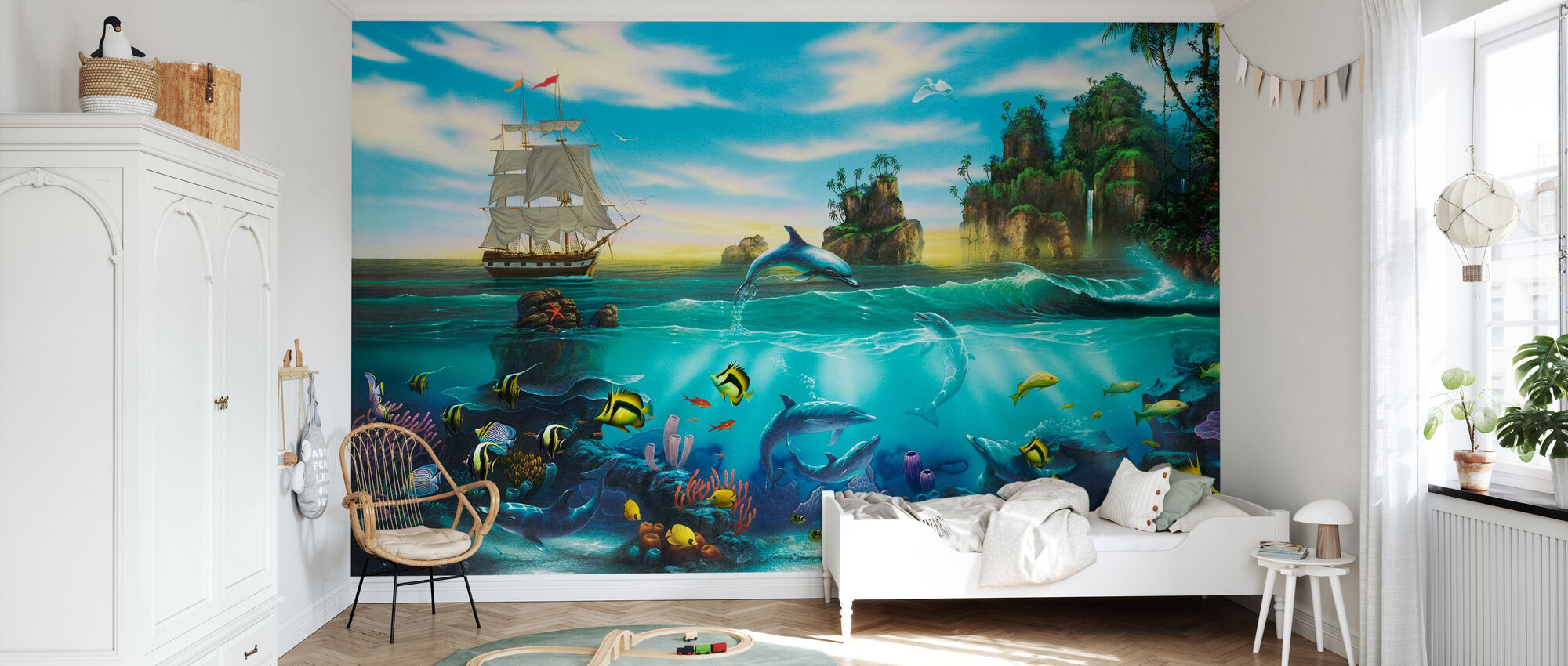 Paradise Found - Wallpaper - Kids Room