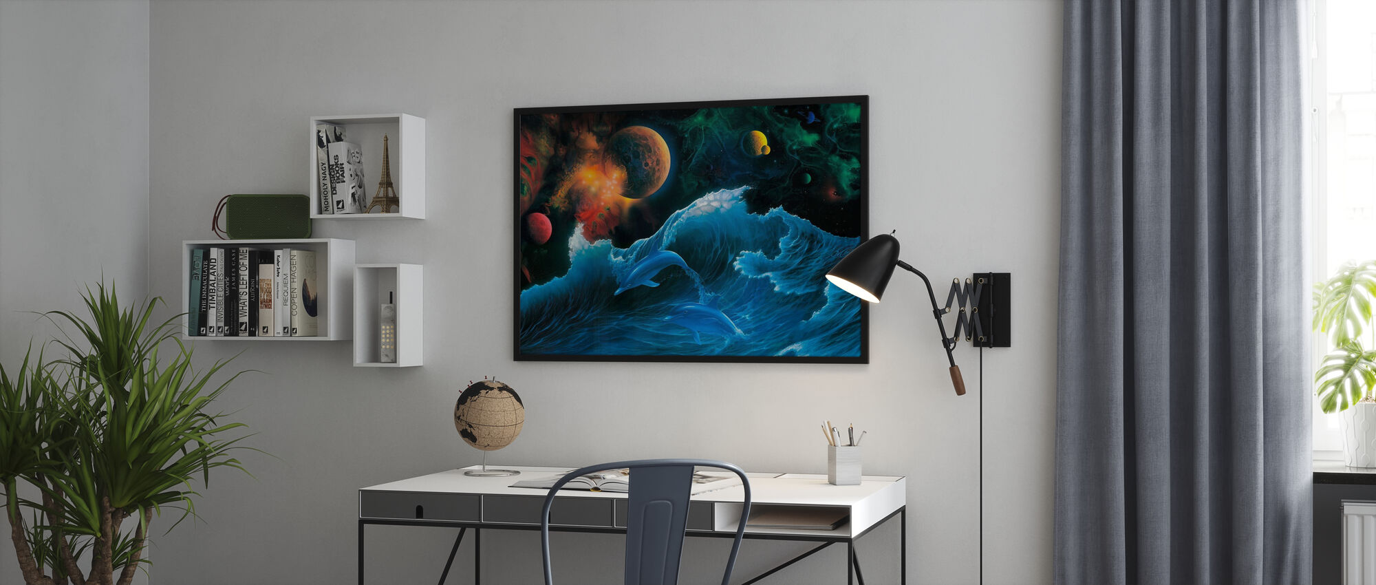 Voyager - Framed print - Office