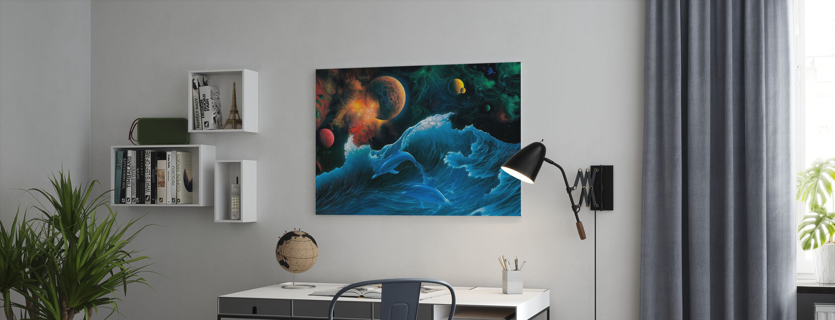 Voyager - Canvas print - Office