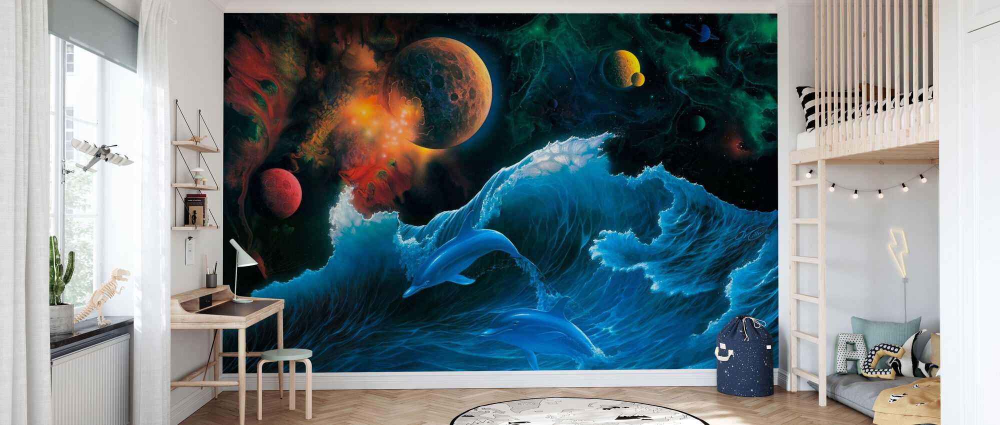 Voyager - Wallpaper - Kids Room