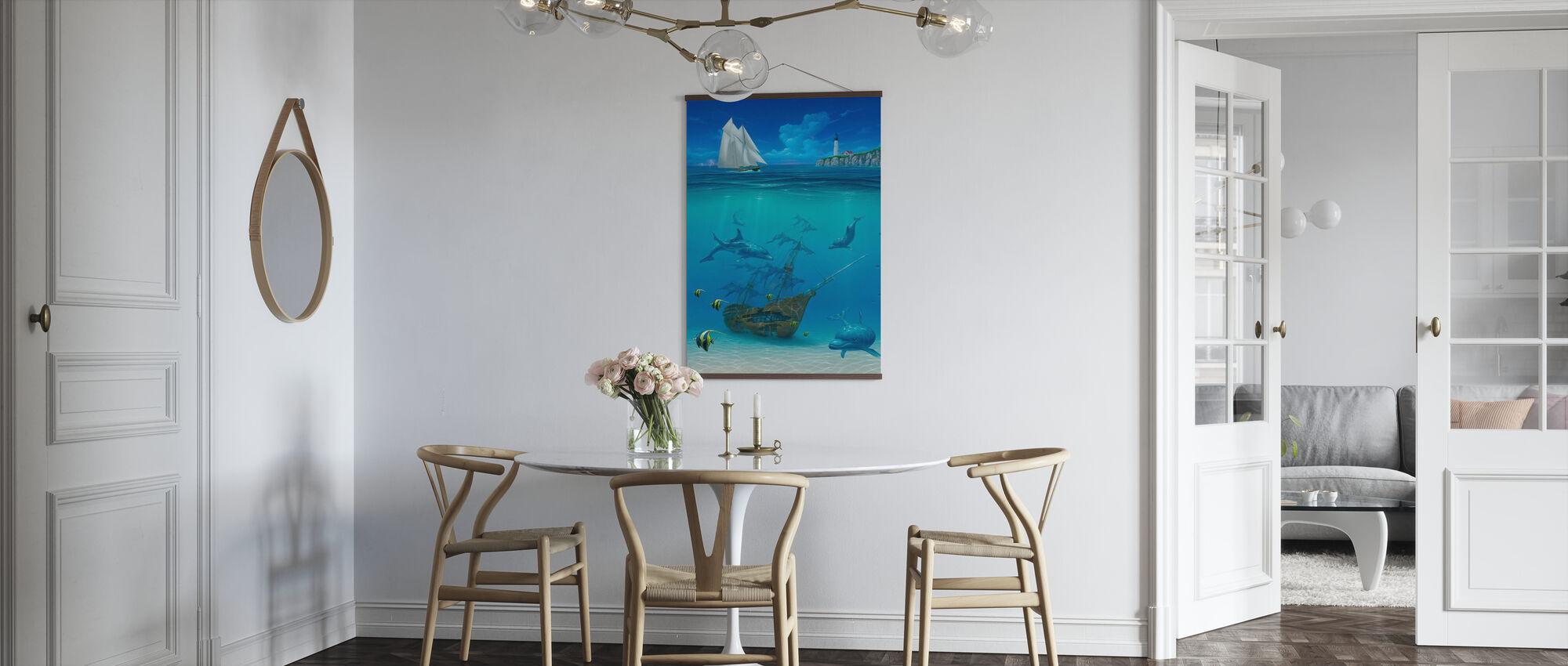 Sail Away - Poster - Kitchen