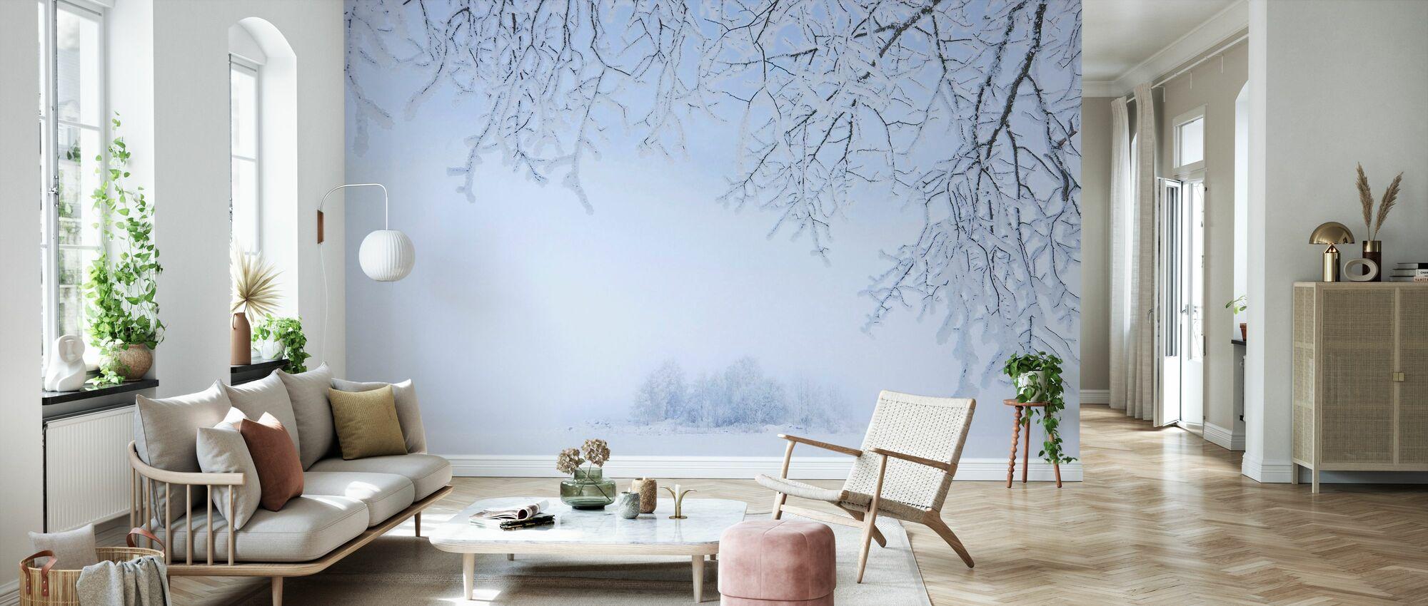Foggy Winter - Wallpaper - Living Room